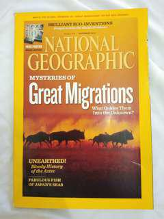 National Geographic November 2010