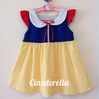 Brand New Disney Snow White Girls Dress