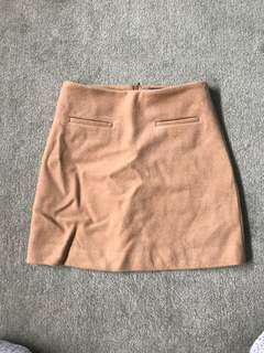 Marc's Wool Mini A line skirt