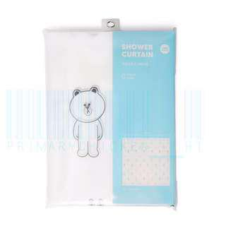 🇰🇷Line Friends Shower Curtain 浴簾 浴廉🇰🇷