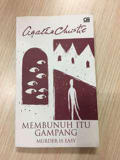 "Agatha Christie ""Membunuh Itu Gampang"" (Murder is Easy)"