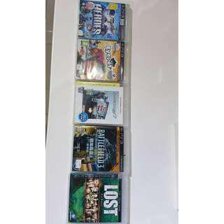 PS3 GAMES FOR SALE! RM30 EACH
