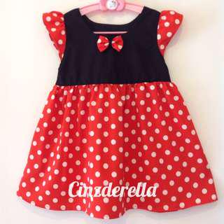 Brand New Disney Minnie Mouse Girls Dress