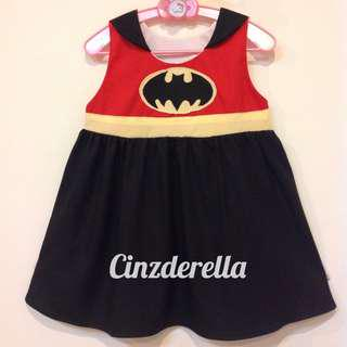 Brand New Justice League Batman Girls Dress