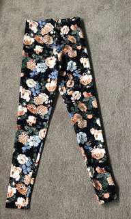 Forever 21 Floral Leggings