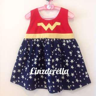 Brand New Justice League Wonderwoman Girls Dress
