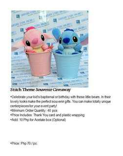 Stitch for Souvenirs and Giveaways for Special event