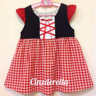 Brand New The Little Red Riding Hood Girls Dress