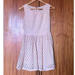 Off-White Lacey Dress