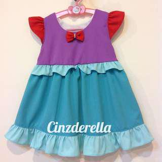 Brand New Disney The Little Mermaid Ariel Girls Dress
