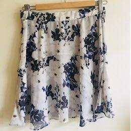 Witchery Floral Print Skirt
