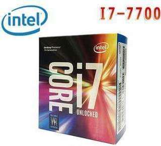 🚚 Intel I7 7700+主機板H170 Gameing M3