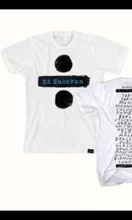 NEW Ed Sheeran Divide Tour MNL Official Shirt (Medium)