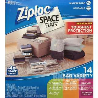 Ziploc 真空收納袋 塑膠收納袋 衣物收納袋 收納袋【BigBoss比客博士】好市多 Costco 代購 代買