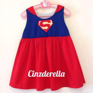 Brand New Justice League Supergirl Girls Dress
