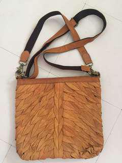 Leather 2way sling/shoulderbag
