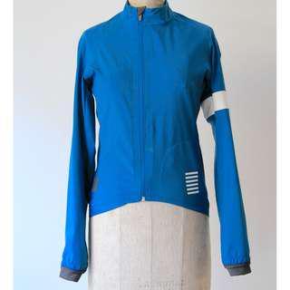 Rapha Pro Team Jacket Blue XS Mens Jersey Cycling Kit Bike, Winter Rain Jacket
