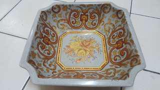 Porcelain vase/ bowl gold paint