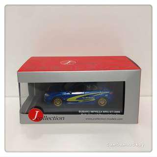 [全新] J-Collection 1:43 SUBARU Impreza WRX STI 2008