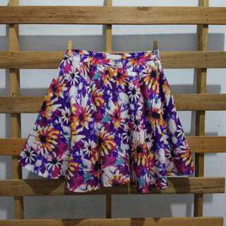 Love Bonito Floral Skirt