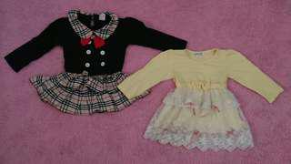 Dress anak import china