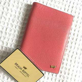 Braun Buffel Ophelia-P Passport Holder With Notes Compartment