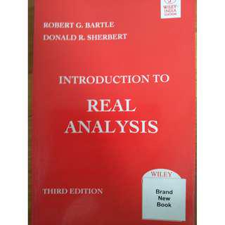 Introduction to Real Analysis Bartle