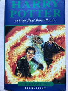 GOOD DEAL! Harry Potter Half Blood Prince (hard cover)
