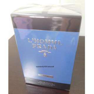PRADA L'Homme L'eau Milano EDT (Eau De Toilette) fragrance for men (100ml, 3.4 Fl.Oz, retail packaging, BNIB)
