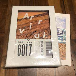 GOT7 Mwave Arrival Bambam Signed Album