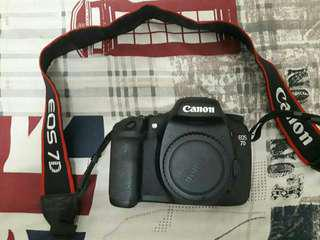 Canon 7D full set dan Lensa Tamron 18-200
