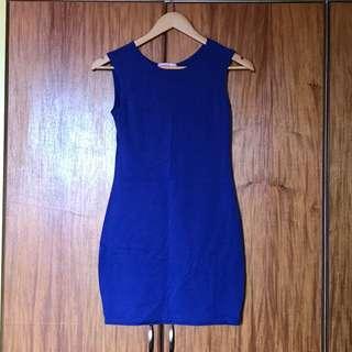 Supre Blue Bodycon Dress