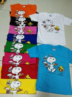 Snoopy kids tshirt