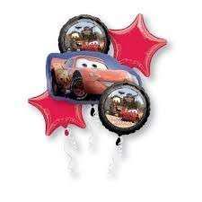 Cars Themed Helium Balloons