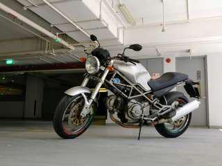 Low mileage Ducati Monster 400 - COE 2025
