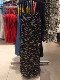 Topshop Camouflage Dress