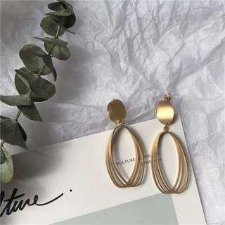 🚚 Sale 簡約線圈耳環