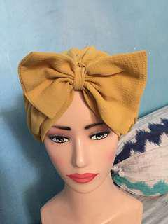 Turban like new warna mustard