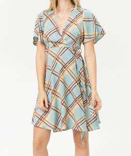Authentic Forever 21 Wrap Dress