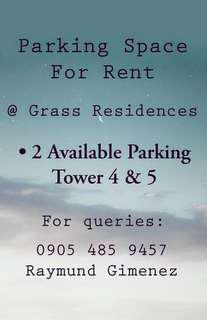 Parking Space for Rent @ Grass Residences
