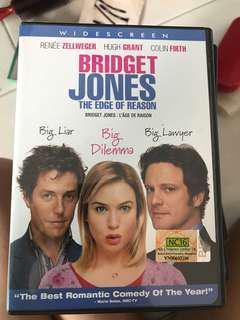 Bridget jones dvd