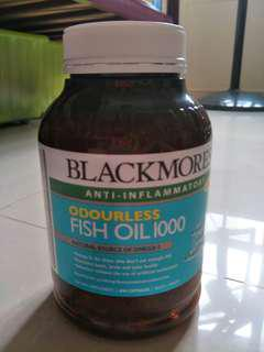 BN Sealed Blackmores odourless Fish Oil 1000 400s