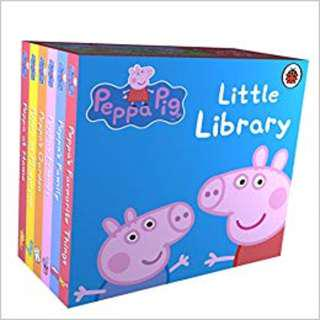 Peppa Pig Fairy Tale Little Library Storybooks Brand New