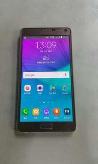 95% new Samsung note4 16GB dual SIM 香港行貨 note 4