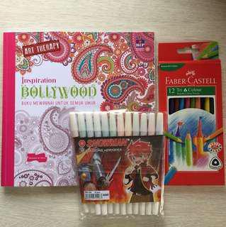 Bollywood Drawing Book