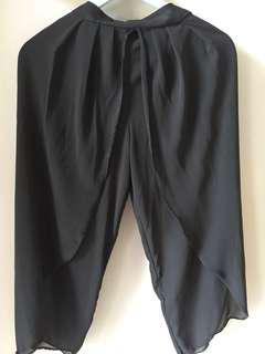Celana kulot black