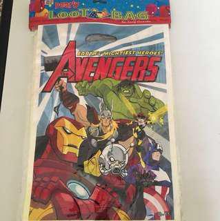 Avengers Loot/Goodie Bag
