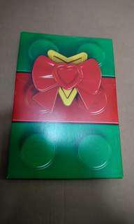 LEGO 聖誕卡 一套4張