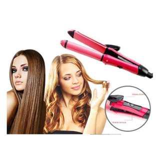 Nova Hair Curler & Straightener Brand New