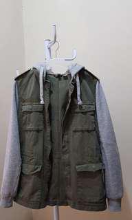 Jaket hoodie H&M